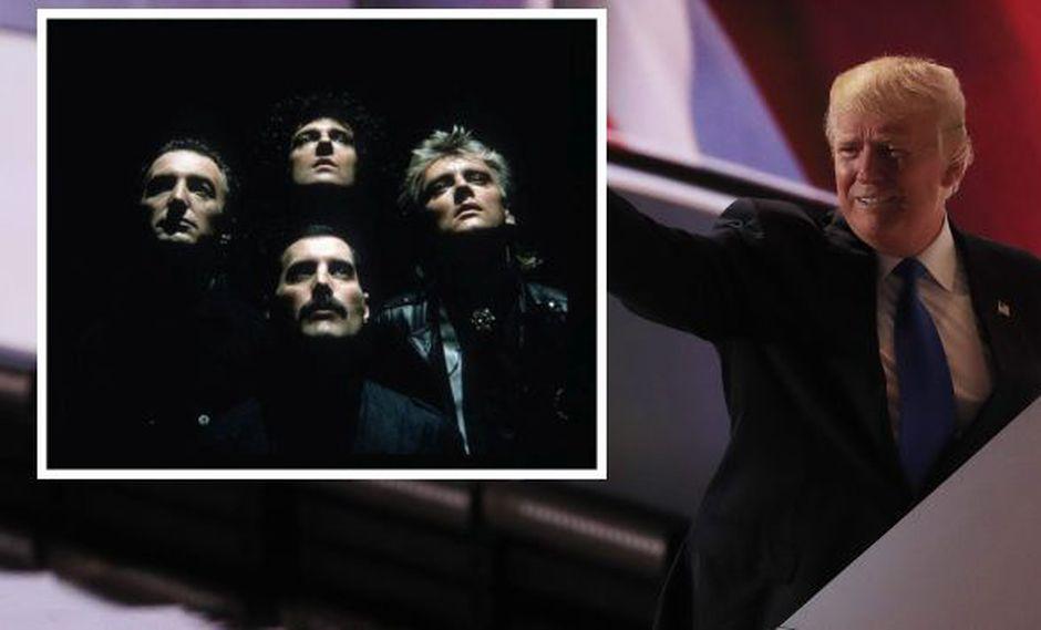 Queen volvió a pedir a Donald Trump no tocar 'We are the Champions' en su campaña. (EFE)