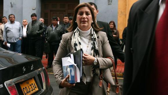 FIJA POSICIÓN. Ministra Rivas dice que postura oficial es una sola. (David Vexelman)