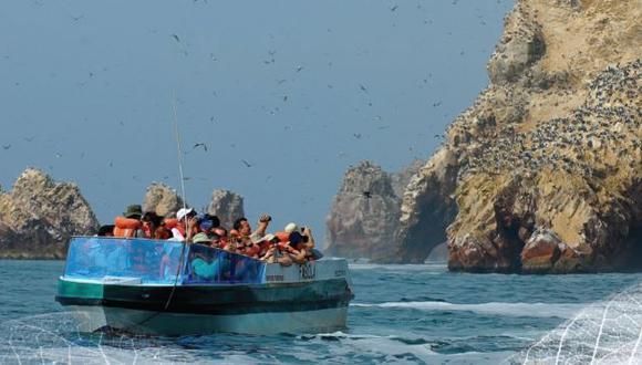 Gran cantidad de turistas llegará a Paracas por el Año Nuevo. (Sernanp)