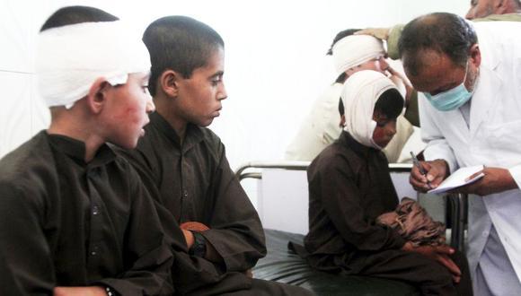 12 muertos y 179 heridos: Un despiadado ataque talibán oscurece la paz en Afganistán. (AP)