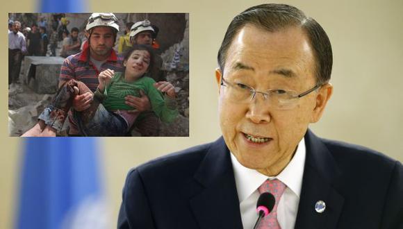 Secretario General de la ONU condenó ataque sobre hospital en Siria. (Reuters/Getty Images)