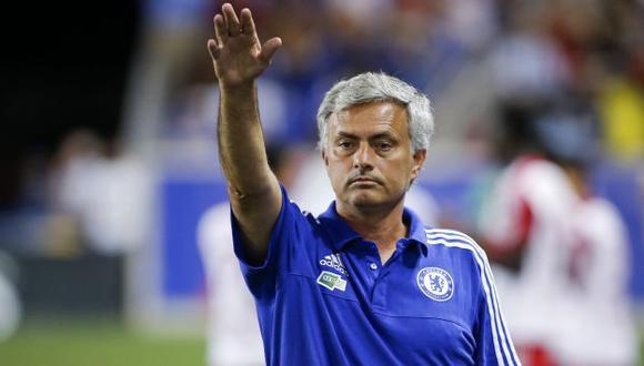 José Mourinho respondió a la esposa de Rafa Benítez. (Reuters)