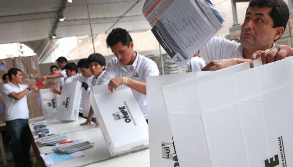 Un total de 14 545 listas de candidatos se han presentado a los comicios de octubre. (FOTO:USI)