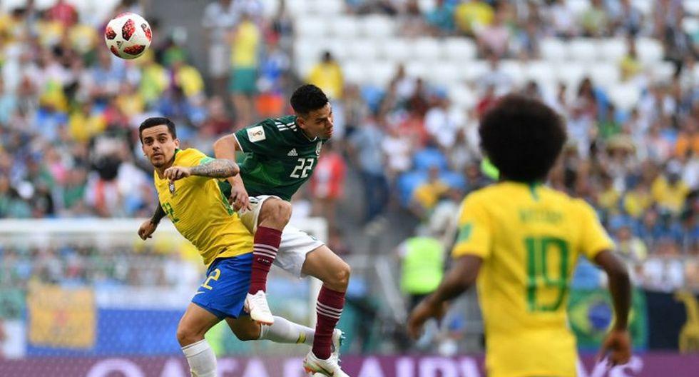 Brasil accedió a los cuartos de final del Mundial tras vencer 2-0 a México en octavos. (AFP)