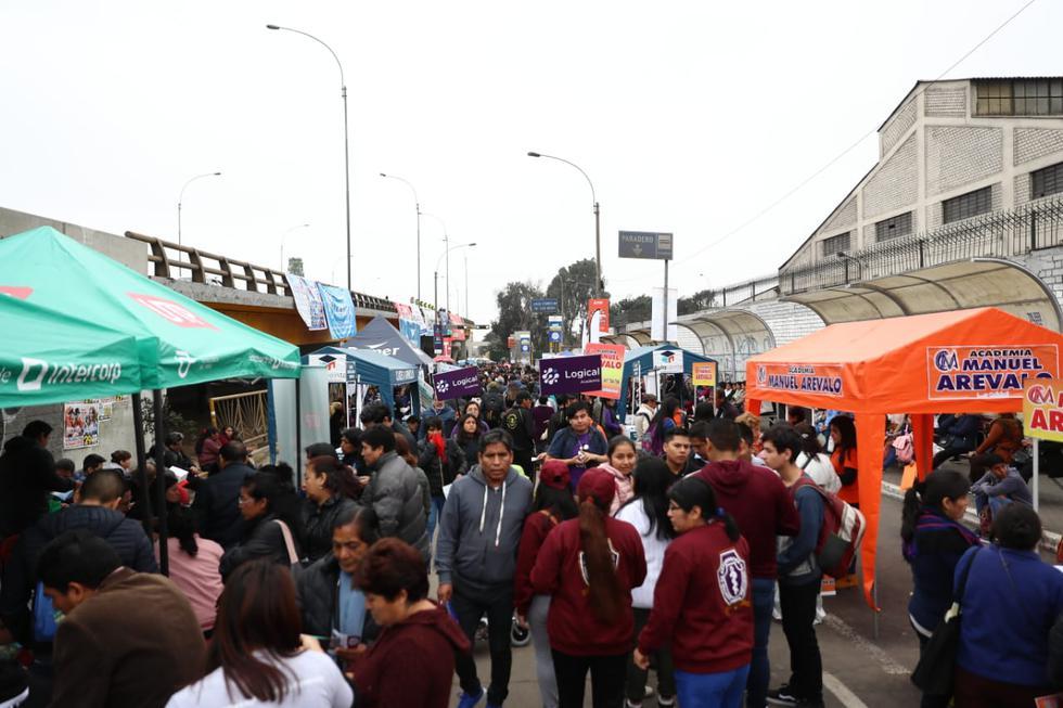 Más de 12 mil jóvenes asistieron a la casa de estudios a rendir el examen de admisión de San Marcos. (Foto: Giancarlo Ávila / GEC)