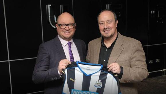 Rafa Benítez tendrá la difícil misiónde reflotar el Newcastle United. (Newcastle United)