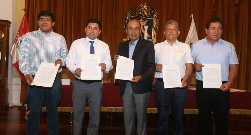 Suman fuerzas. El alcalde de Trujillo y de cuatro distritos de esta provincia se unen contra el crimen.
