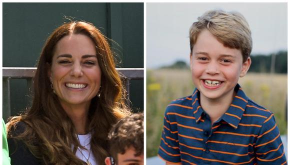 Jorge de Cambridge cumple 8 años. (Foto: AFP   Kensington)