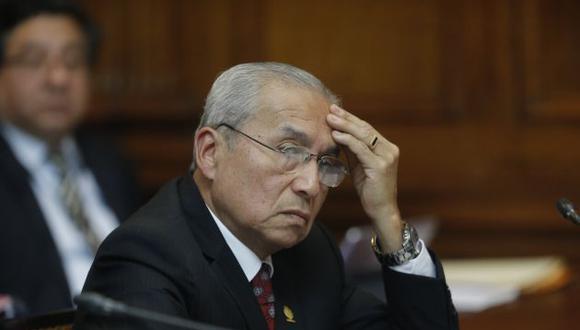 Fiscal de la Nación se niega a dar un paso al costado.