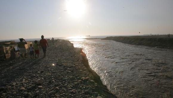 Caudal del río Chillón creció 1.3 metros por segundo. (USI/Referencial)