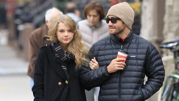 Así reaccionó Jake Gyllenhaal cuando le preguntaron por su ex, Taylor Swift (AP)