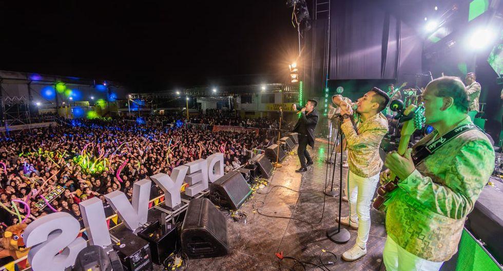 Deyvis Orosco celebró sus 33 años al lado de su novia y en multitudinario concierto. (Foto: GRP)