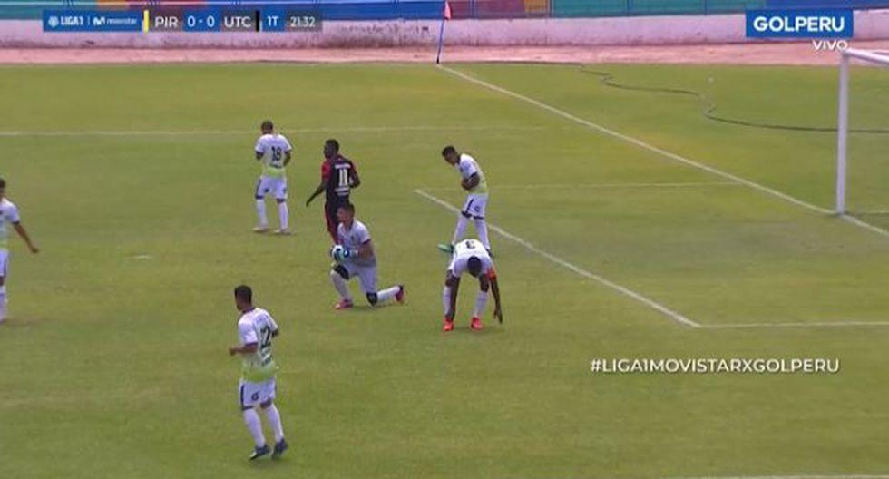 El partido terminó con la victoria del descendido Pirata FC por 3 a 1. (Captura: Golperu)