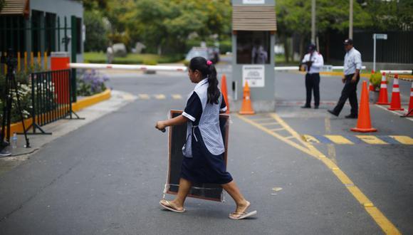 Trabajadora del hogar. (LuisCenturión/Perú21)