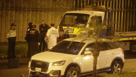 Mario Fernández frustró el secuestro de su hija en La Molina tras persecución. Ella fue interceptada cuando circulaba a bordo de su auto cerca del centro comercial Molicentro.(Foto: César Campos/GEC)