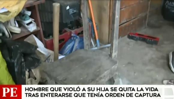 Hombre se suicida al enterarse que tenía orden de captura por violación. (Foto: Captura América Noticias)