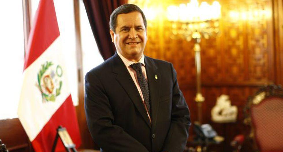 Luis Iberico no descarta integrar eventual gabinete de PPK. (Anthony Niño de Guzmán)