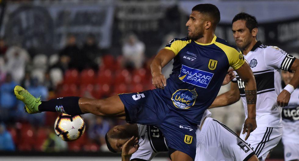 Olimpia igualó 1-1 ante U. de Concepción por la Copa Libertadores. (AFP)