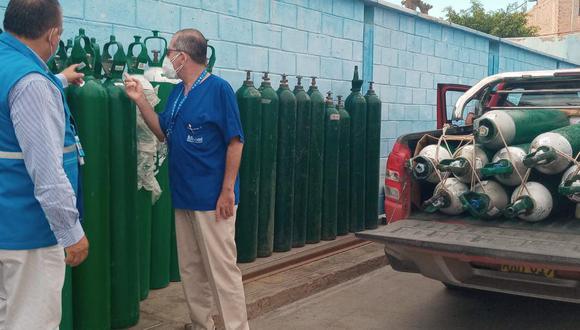 El alcalde de Contumazá también se comprometió a brindar todas las facilidades a las brigadas que vacunarán contra el COVID-19 a los adultos mayores que viven en zonas alejadas (Foto: Archivo GEC referencial)