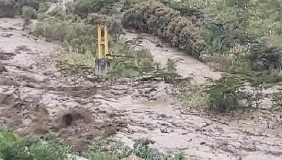 Las fuertes lluvias en la zona alta de la región Cusco desbordaron los ríos y quebradas de las cuencas del Salkantay y el Vilcanota. (Foto: Andina)