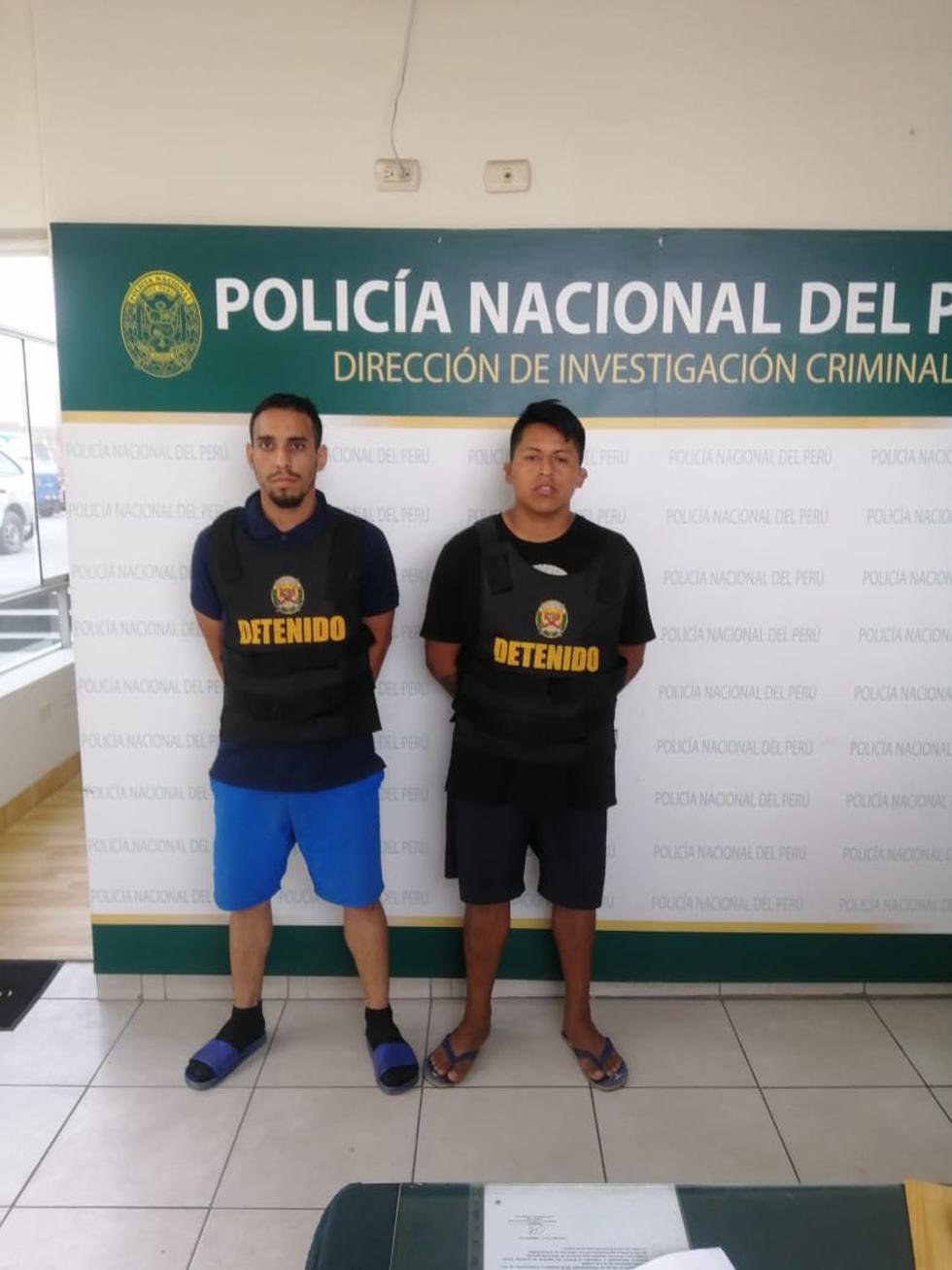 El venezolano William Correa y Kenyi Castillo Ajen.