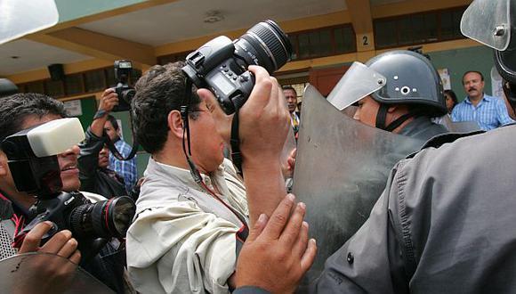 Los casos de agresión a periodistas también aumentaron. (USI)
