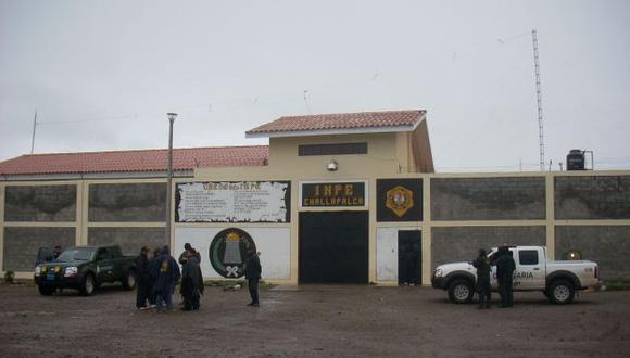Recinto penitenciario de Challapalca se encuentra cerca de la frontera entre Perú y Bolivia. (Andina)