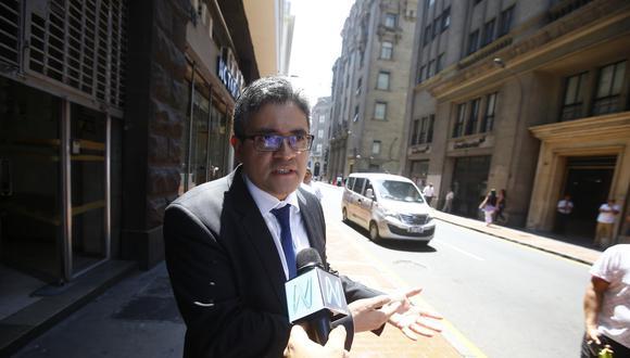 El fiscal José Domingo Pérez investiga a Keiko Fujimori y al partido Fuerza Popular. (Francisco Neyra/GEC)