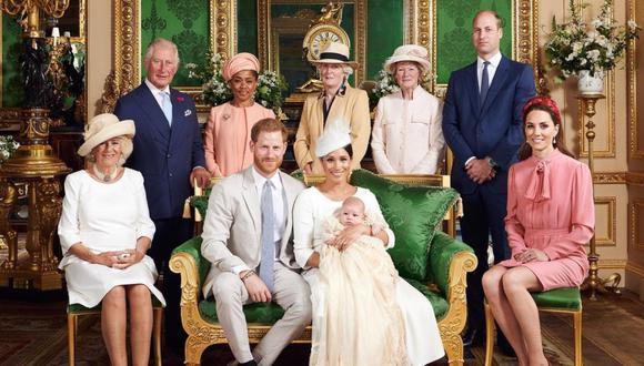 La Familia Real Británica. (Foto: Instagram)