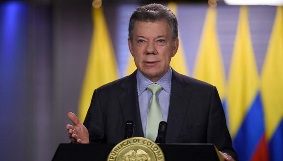Congreso de Colombia abre indagación preliminar a Santos por caso Odebrecht. (Foto: EFE)