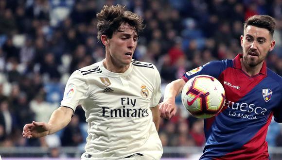 Álvaro Odriozola se perderá lo que resta de la temporada con Real Madrid. (Foto: EFE)