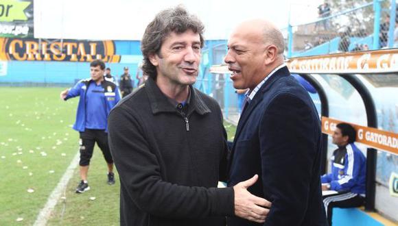 José Mari Bakero y Roberto Mosquera tuvieron una relación de amistad. (Depor)