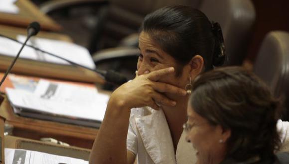 La exparlamentaria Nancy Obregón debería explicar si tuvo o no algún nexo con el derrotado cabecilla senderista. (Martín Pauca)