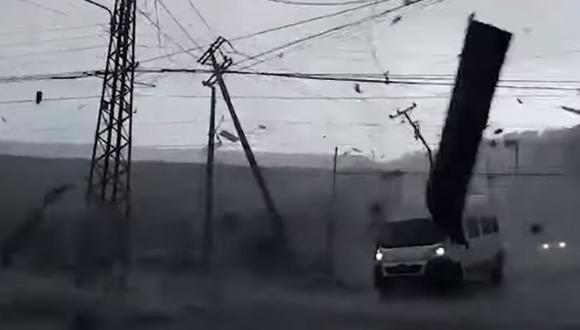 Chile: Tromba marina provoca serios daños en Talcahuano y Concepción. (Foto: captura)