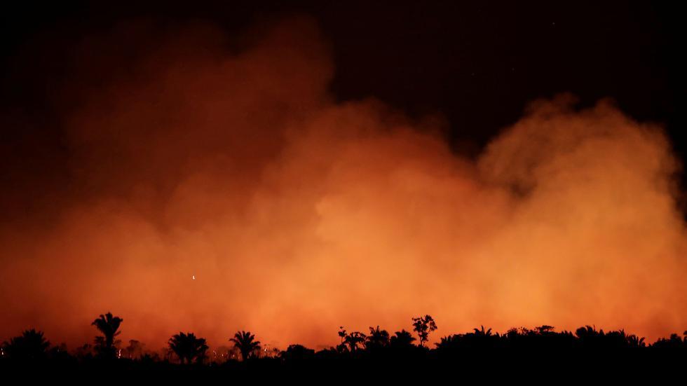 Amazonas en llamas: Estas son las fotos más impactantes de los incendios en Brasil. (Reuters)
