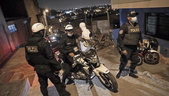 El Ministerio del Interio reportó el lunes que hay 5,400 policías infectados y 92 fallecidos. (GEC)