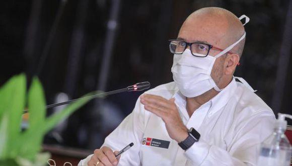 El ministro de Salud, Víctor Zamora, se pronunció sobre la denuncia de un cobro realizado por las clínicas privadas sobre las pruebas moleculares de COVID-19. (GEC)