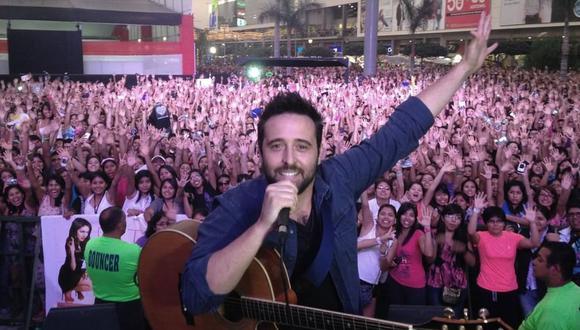 El cantante Diego Dibós se encuentra en UCI luchando contra el coronavirus. (Foto: @Diegodibós)