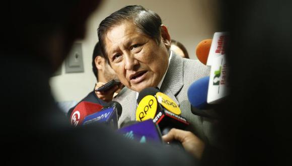 Juan Pari pide creación de comisión ad-hoc para que investigue denominado caso Lava Jato en el Perú. (Piko Tamashiro)