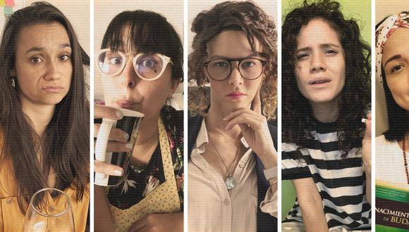 """Los Productores presentan la obra de teatro virtual """"Amigas del cole"""". (Los Productores)"""