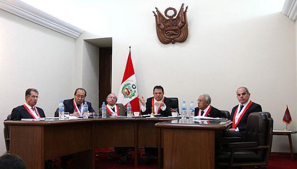 Tribunal Constitucional tiene dos magistrados con funciones vencidas. (H. Aparicio)