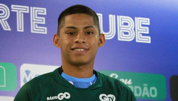Kevin Quevedo tiene contrato de un año con el cuadro del Goiás. (Foto: Raisa Simplicio)
