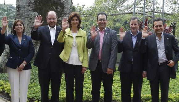 Bloque se reúne en Colombia. (AP)