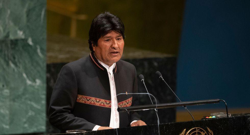 A mediados de setiembre, Evo Morales ya había hecho una denuncia similar. (Foto: AFP)