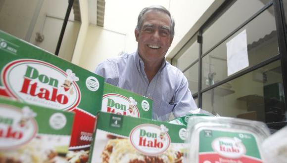 Su negocio produce 14 toneladas al mes de pastas frescas congeladas. (USI)