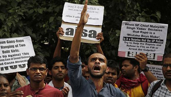 India: Indignación por la violación y ahorcamiento de dos menores. (AP)