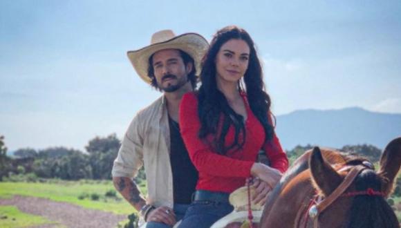 "Livia Brito y José Ron protagonizan la telenovela ""La desalmada"" (Foto: Televisa)"