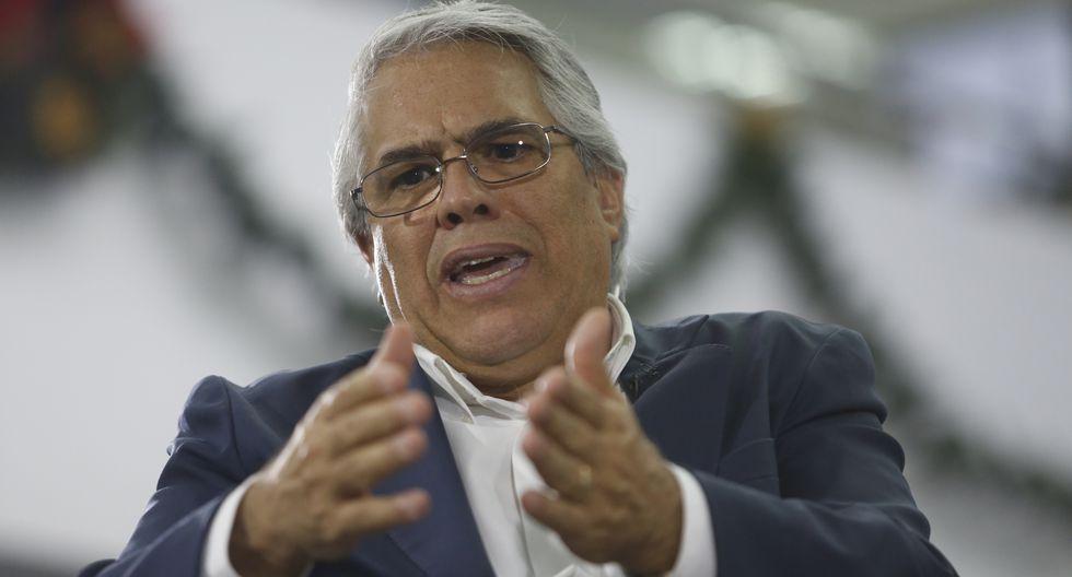 """Gino Costa sostuvo que investigaciones contra Fuerza Popular""""no responden a ningún interés político en particular"""". (Foto: USI)"""