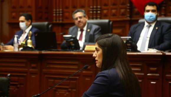 Ministra de Economía, María Antonieta Alva. (Foto: Congreso)