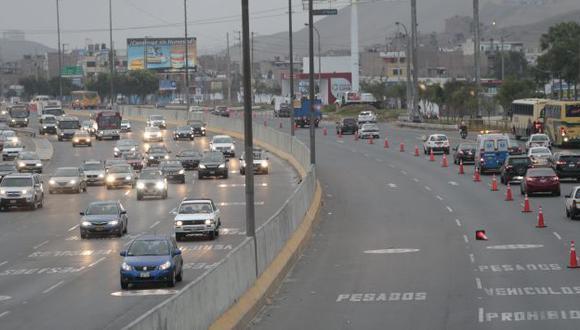 Cerrarán por 30 días un tramo de la Panamericana Sur por rehabilitación de pista. (Perú21)